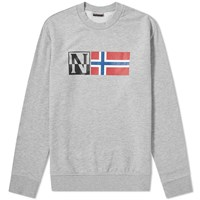 Napapijri Benoos Crew Sweat Grey