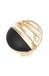 Women's Alexis Bittar 'Lucite Metal' Cocktail Ring
