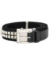 Gosha Rubchinskiy Studded Buckle Belt Black