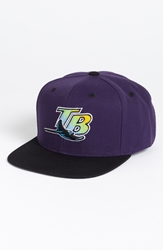 American Needle 'Tampa Bay Rays Back 2 Front' Snapback Baseball Cap Devil Rays