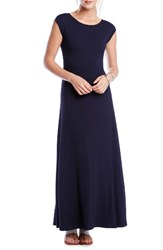 Karen Kane Women's V Back A Line Maxi Dress