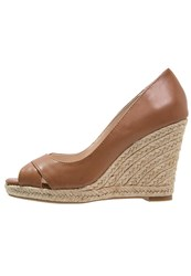 Dorothy Perkins Callie Peep Toes Brown