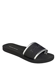 Tommy Hilfiger Mery Textile Band Sandals Black