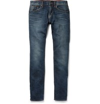 Jean Shop Jim Slim Fit Selvedge Denim Jeans Indigo