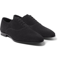 Saint Laurent Suede Oxford Shoes
