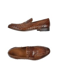 Silvano Sassetti Footwear Moccasins Men Brown