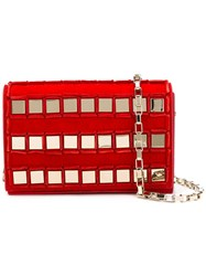 Tomasini 'Ross' Cross Body Bag Red