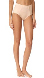 Cosabella Undercover High Waisted Briefs Almond