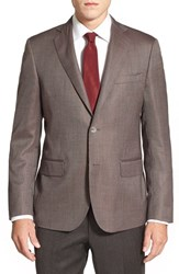 Men's John W. Nordstrom Classic Fit Cashmere And Silk Blazer
