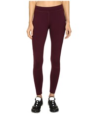 Monreal London Biker Leggings Rouge Noir