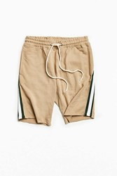 Urban Outfitters Uo Pierce Side Stripe Short Taupe