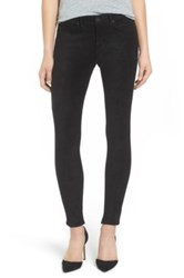 Mcguire Newton Faux Suede Ankle Skinny Pants Black