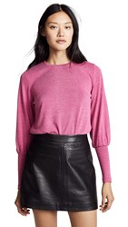 The Fifth Label Whistle Long Sleeve Top Magenta