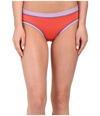 Exofficio Give N Go Sport Mesh Bikini Brief Hot Coral Women's Underwear Red