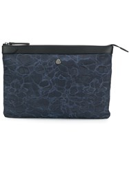 Mismo Ms Large Zip Pouch Blue