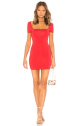 Privacy Please Cora Mini Dress Red
