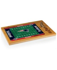 Picnic Time New England Patriots Icon Cutting Board Burlywood