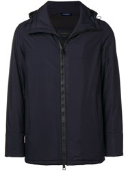 Dell'oglio Padded Rain Jacket Blue
