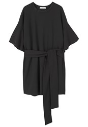 Mango Mulan Summer Dress Black