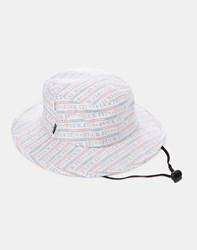 Huf F Ck It Push Through Jungle Hat White