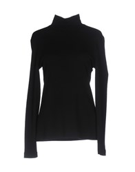 Leonard Paris Turtlenecks Black