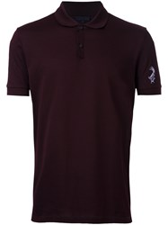 Lanvin Classic Polo Shirt Red