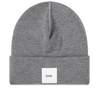Oamc Logo Watch Beanie Grey