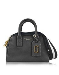 Marc Jacobs Gotham City Black Leather Small Satchel Bag