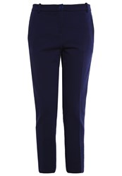 Pinko Bello Trousers Blu Marino Cupo Dark Blue