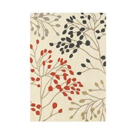 Sanderson Pippin Charcoal Coral Rug 140X200cm