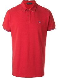 Etro Classic Polo Shirt Red