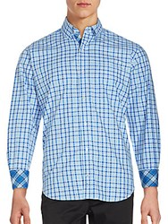 Tailorbyrd Classic Long Sleeve Shirt Royal