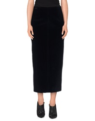 Piazza Sempione 3 4 Length Skirts Dark Blue