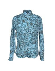 Meltin Pot Shirts Shirts Men Sky Blue