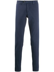 Eleventy Slim Fit Tapered Leg Trousers 60