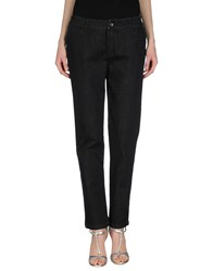 Mariella Rosati Denim Denim Trousers Women Black
