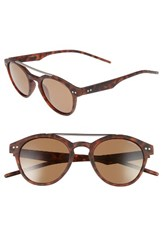 Polaroid Men's Eyewear 50Mm Polarized Sunglasses Matte Havana Bronze Matte Havana Bronze