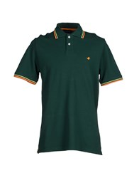 Brooksfield Topwear Polo Shirts Men Dark Green