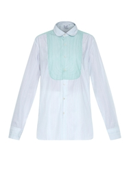 Thierry Colson Barth Embroidered Cotton Shirt