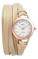 La Mer Women's Collections Saturn Wrap Leather Strap Watch 25Mm