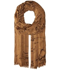 Patricia Nash Scarf Rust Scarves Red