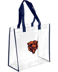 Forever Collectibles Chicago Bears Clear Tote Bag