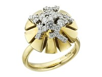 Miseno Vesuvio 18K Gold Diamond Ring Yellow Gold Ring