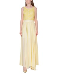 Imperial Star Long Dresses Light Yellow