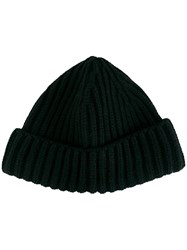 Loro Piana Knitted Cashmere Hat Black