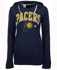 Adidas Women's Indiana Pacers Mesh Arch Hooded Sweatshirt Navy