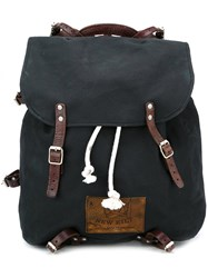 Golden Goose Deluxe Brand Canvas Backpack Black