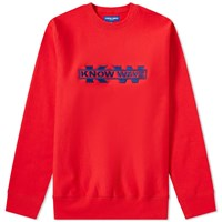 Know Wave X Black Dice Service Sector Embroidered Crew Sweat