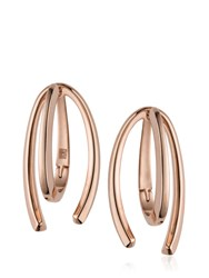 Bea Bongiasca Honeysuckle Love Ties Rose Gold Earrings