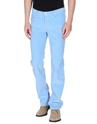 Cotton Belt Casual Pants Sky Blue